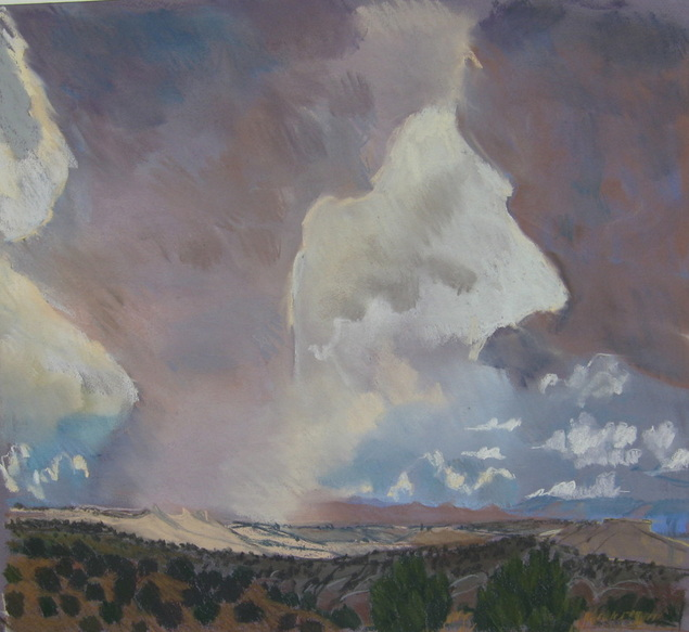 GESNM, Boulder Utah, Escalante, pastel, Scotty Mitchell