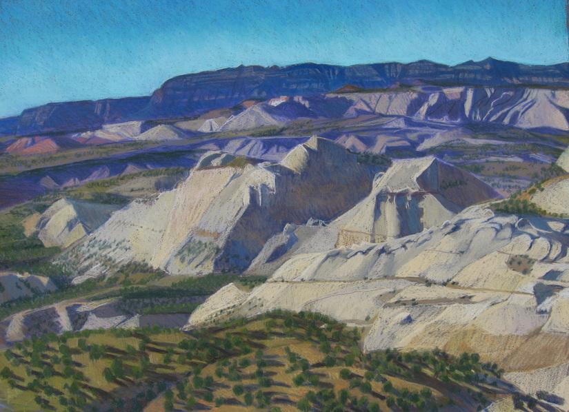Southern Utah, hiking, slick rock, pastel, Scotty Mitchell