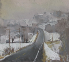 Boulder Utah, plein air, pastel, Scotty Mitchell