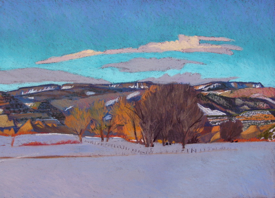 Boulder Utah, lndscape pastel, Scotty Mitchell, plein air