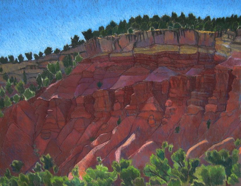 Red Rock, Torrey, plein air, Scotty Mitchell, landscape