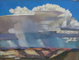 clouds, plein air, southern Utah, Scotty Mitchell