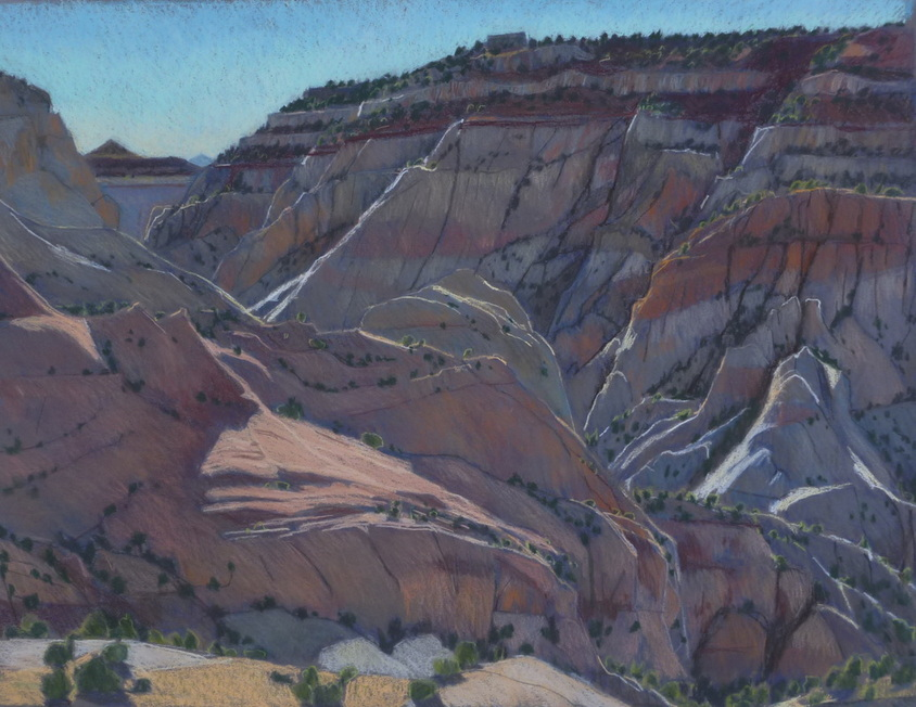 Utah, Escalante, slickrock, plein air, Scotty Mitchell