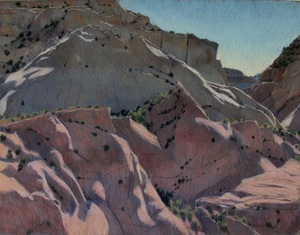 GSENM. red rock, Utah, pastel landscape, Scotty Mitchell