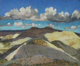 GSENM, Escalante Canyons, plein air pastel, Scotty Mitchell